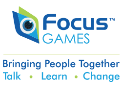 Focus Games, Bringing People Together. Engage. Learn. Change.